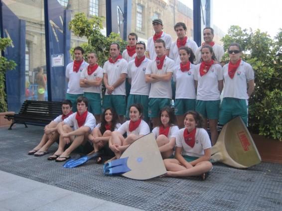 Campeonato de espa a de nataci n con aletas junior for Aletas natacion piscina
