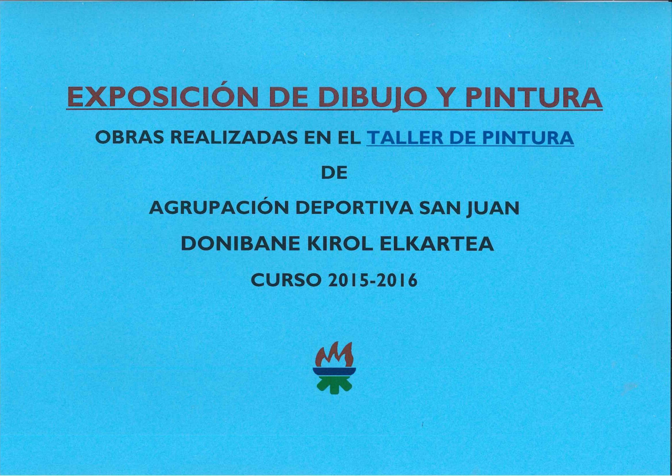 Exposición del Taller de Pintura Curso 2015-2016
