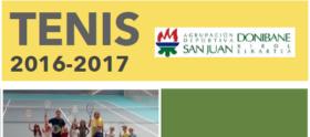 Cartel Escuela Tenis 2016-2017 Mini